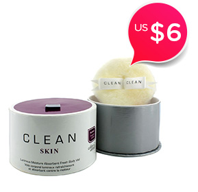 Clean Skin Luminous Moisture Absorbent Fresh Body Veil