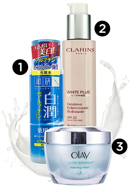 Get tan get white - whitening moisturizer products