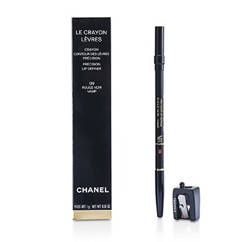 Chanel Lápis Le Crayon Levres - No. 09 Rouge Noir  1g/0.03oz