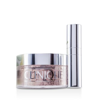 Clinique Sypki puder z pędzlem Blended Face Powder + Brush - No. 02 Transparency  35g/1.2oz