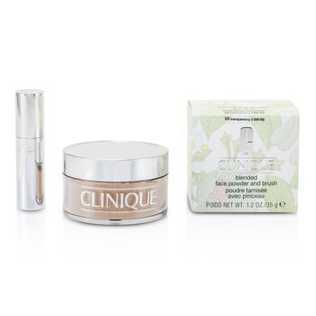 Clinique Pó facial Blended  + Pincel - No. 03 Transparency; Premium price due to scarcity  35g/1.2oz