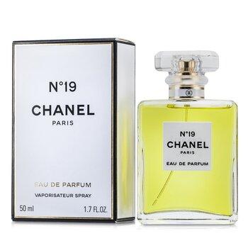 Chanel No.19 Парфюмированная Вода Спрей в Хрустальном Флаконе  50ml/1.7oz