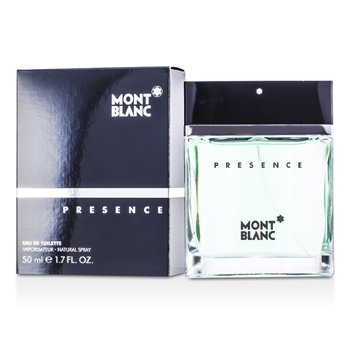 Mont Blanc Presence Eau De Toilette Spray  50ml/1.7oz