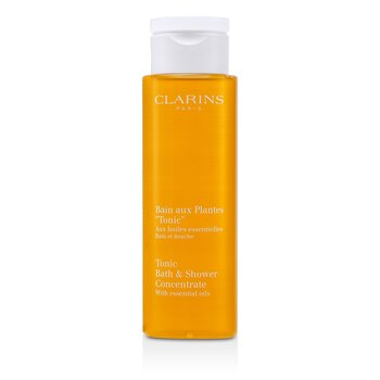 Clarins Tonic Shower Bath Concentrado Bano  200ml/6.7oz