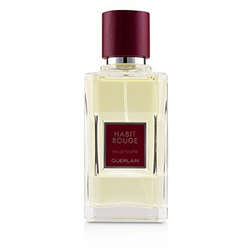 Guerlain Habit Rouge Eau De Toilette Spray  50ml/1.6oz