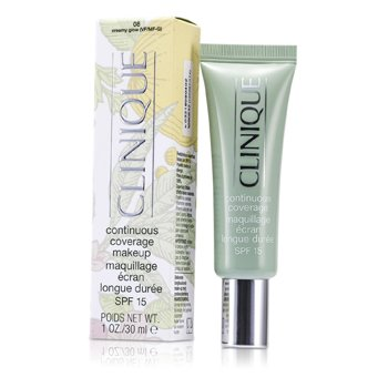 Clinique Continuous Coverage Spf15 Base Maquillaje - No. 08 Creamy Glow  30ml/1oz
