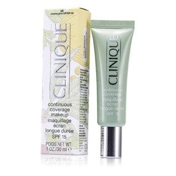 Clinique Continuous Coverage Spf15 Base Maquillaje - No. 08 Creamy Glow  30ml/1oz