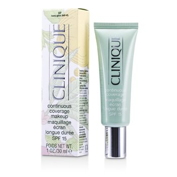 Clinique Continuous Coverage Spf15 - No. 07 Ivory Glow  30ml/1oz