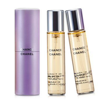 Chanel Chance Twist & Semprot Eau De Toilette  3x20ml/0.7oz