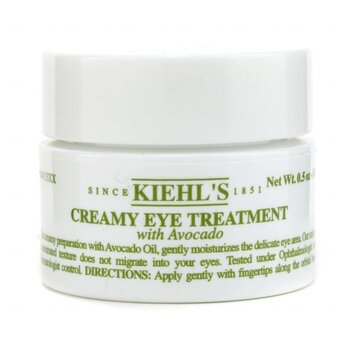 Kiehl's Creamy Eye Treatment with Avocado - Perawatan Mata  14gl/0.5oz