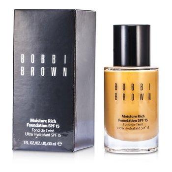Bobbi Brown Moisture Rich Foundation SPF15 - #4.5 Warm Natural  30ml/1oz