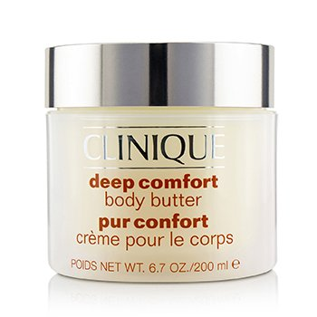 Clinique Deep Comfort Body Butter Losion Tubuh  200ml/6.7oz