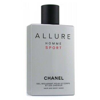Chanel Allure Homme Gel de Duş pentru Păr și Corp ( Fabricat în SUA )  200ml/6.8oz