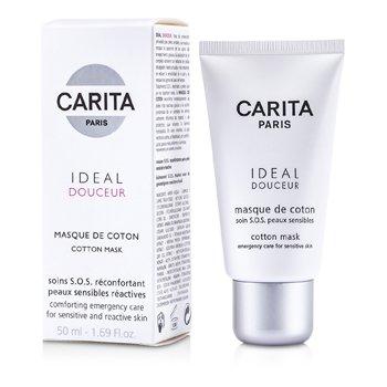 Carita Ideal Douceur Cotton Mask (Sensitive Skin)  50ml/1.69oz