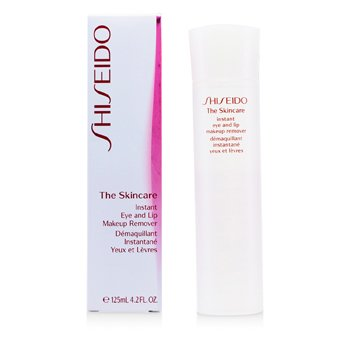 Shiseido The Skincare Instant Mata & Bibir Pembersih Mekap  125ml/4.2oz