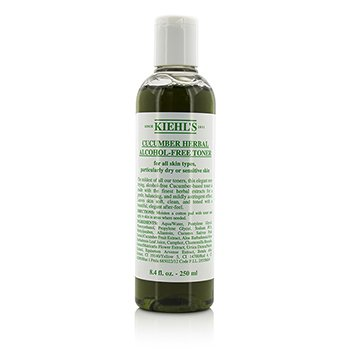Kiehl's Cucumber Herbal Alcohol-Free T�nico (Piel Seca o Sensible  )  250ml/8.4oz