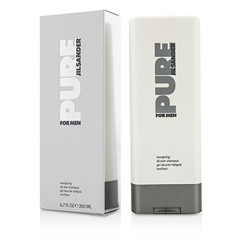 Jil Sander Żel do mycia ciała i włosów Pure For Men Energizing All Over Shampoo  200ml/6.7oz