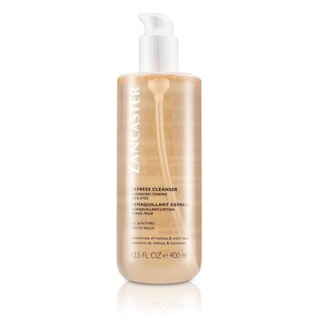 Lancaster Płyn do demakijażu oczu i twarzy Express Cleanser for Face & Eyes (All Skin Type)  400ml/13oz
