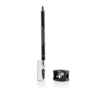 Christian Dior Lápis de sobrancelha Sourcils Poudre- # 093 Black  1.2g/0.04oz