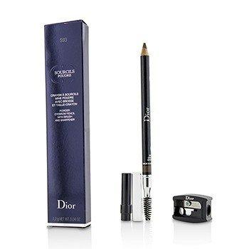 Christian Dior Lápis de sobrancelha  Sourcils Poudre- # 593 Marrom  1.2g/0.04oz