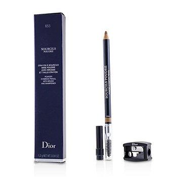 Christian Dior Lápis de sobrancelha Sourcils Poudre - # 653 Blonde  1.2g/0.04oz