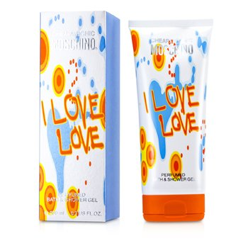 Moschino I Love Love Perfumado Gel de Baño y Ducha  200ml/6.7oz