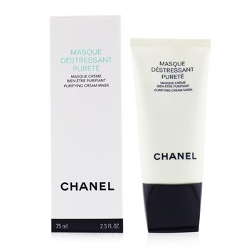 Chanel Precision Masque Destressant Purete Purifying Mácara Anti-estres pieles Grasas  75ml/2.5oz