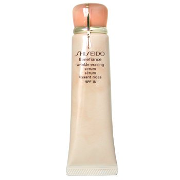 Shiseido Benefiance Wrinkle Erasing Serum crema con color Anti-imperfecciones y arrugas Protector SPF 18  40g/1.3oz