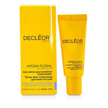Decleor Hydra Floral Anti-Pollution Flower Dew Crema-Gel Hidratante Ojos  15ml/0.5oz