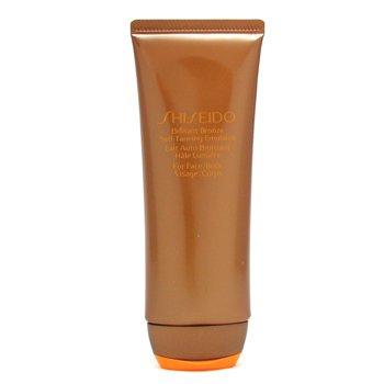 Shiseido Brilliant Bronze Emulsión Autobronceadora (Rostro y Cuerpo)  100ml/3.5oz