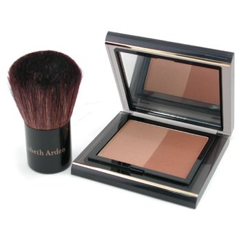 Elizabeth Arden Color Intrigue Bronzing Powder Duo - Bronze Beauty  10.5g/0.37oz