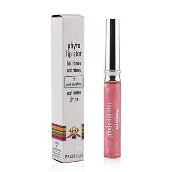 Sisley Phyto Lip Star Brillo Extremo - #2 Pink Sapphire  7ml/0.22oz
