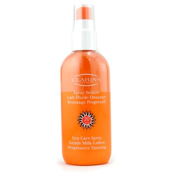 Clarins Sun Care Spray Gentle Leche bronceadora corporal progresiva SPF 20  150ml/5.3oz