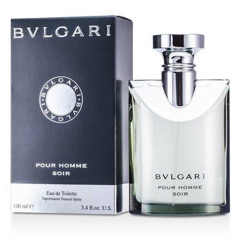 Bvlgari Pour Homme Soir Eau De Toilette Spray  100ml/3.4oz