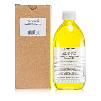 Darphin Jojoba Body Pampering Massage Oil Bottle (Salon Size)  490ml/16.6oz
