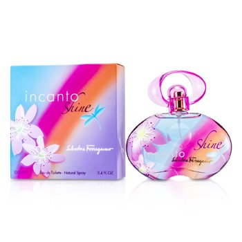 Salvatore Ferragamo Incanto Shine Eau De Toilette Spray  100ml/3.4oz