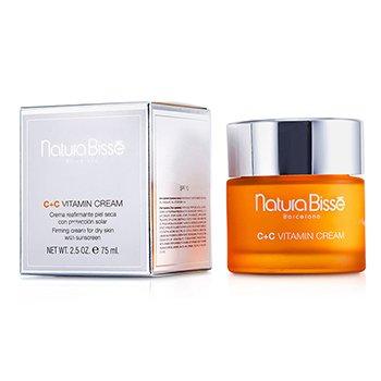 Natura Bisse C+C Vitamin Cream SPF 10 - For Dry Skin  75ml/2.5oz