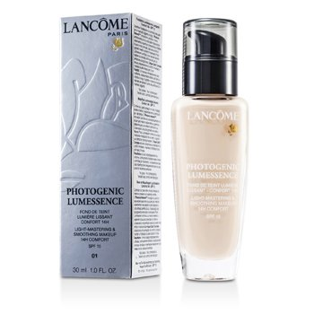 Lancôme Pó compacto Photogenic Lumessence Light Mastering Smoothing Makeup  SPF15 - # 01 Bege Albatre  30ml/1oz