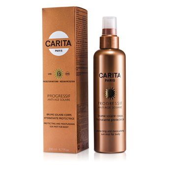 Carita Progressif Anti-Age Solaire Protecting & Moisturizing Sun Mist for Body SPF 15  200ml/6.7oz
