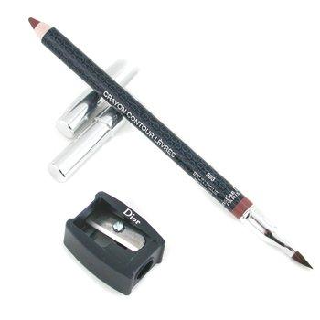 Christian Dior Lipliner Pencil - No. 593 Brown Fig  1.2g/0.04oz