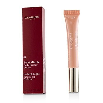 Clarins Błyszczyk Eclat Minute Instant Light Natural Lip Perfector - #02 Apricot Shimmer  12ml/0.35oz