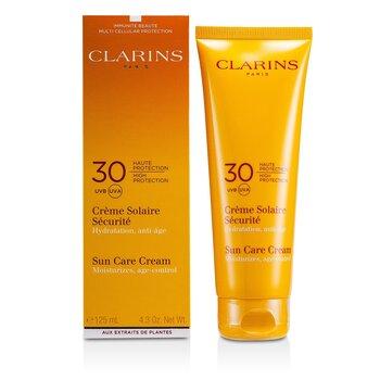 Clarins Güneş Bakım Kremi Yüksek Koruma SPF 30 ( Güneşe Duyarlı Ciltler için )  125ml/4.4oz