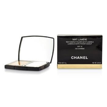 Chanel Mat Lumiere Luminous Matte Pó Makeup SPF10 - # 130 Extreme  13g/0.45oz