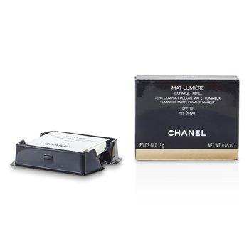 Chanel Mat Lumiere Luminous Matte Pó Makeup Refill SPF10 - # 125 Eclat  13g/0.45oz