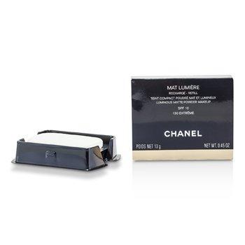 Chanel Mat Lumiere Luminous Matte Pó Makeup Refill SPF10 - # 130 Extreme  13g/0.45oz