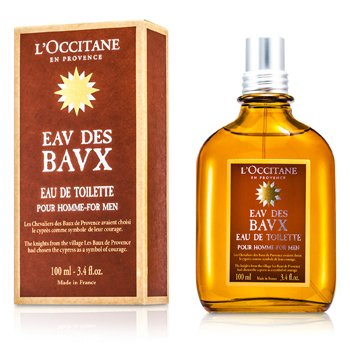 L'Occitane Eau Des Baux For Men Eau De Toilette Spray  100ml/3.4oz
