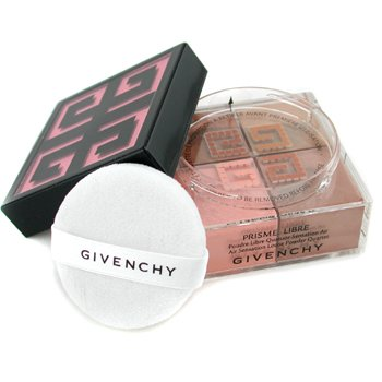 Givenchy Prisme Libre Loose Powder Quartet Air Sensation - # 04 Tender Sun  20g/0.7oz