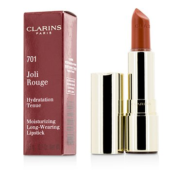 Clarins Joli Rouge (Long Wearing Moisturizing Lipstick) - # 701 Orange Fizz  3.5g/0.12oz