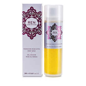 Ren Moroccan Rose Otto Gel Corporal  200ml/6.8oz