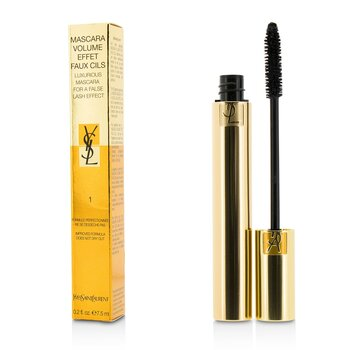Yves Saint Laurent Máscara Volume Effet Faux Cils ( Luxurious Máscara ) - # 01 High Density Black  7.5ml/0.2oz